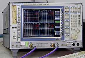 VECTOR NETWORK Analyzer 10 MHZ ÷ 20 GHZ